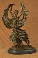Large Flamenco Dancer Art Nouveau Statue Figurine Bronze Sculpture Figure Decor