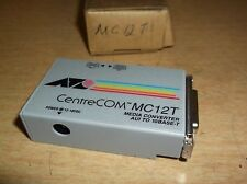 NEW Centre COM MC12T Media Converter To 10Base-T  *FREE SHIPPING*
