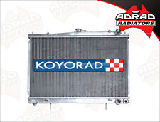 NISSAN SKYLINE R33 2.5ltr '93-98 KOYO PERFORMANCE ALLOY RADIATOR  **Free Ship**