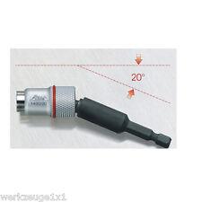 """Bit Kugelkopf Magnethalter Bithalter 1/4"""" Bits Winkelbithalter Halter Bit Hex"""