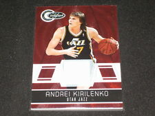 Andrei Kirilenko Certified Authentic Game Used Jersey Basketball Card #127/249