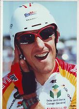CYCLISME COUREUR EQUIPE BIG MAT * TOUR DE FRANCE * PHOTO 30 X 20 CM QUALITE PRO