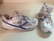 New Balance 758 Womens Athletic Running Shoes Size 8.L@@K !!! WHITE BLUE