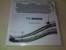 THE GHOSTS - UNDERRATED - 2012 3 MIX PROMO CD SINGLE