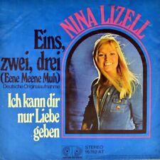 "7"" NINA LIZELL Eins zwei drei CV CATHERINE FERRY 1 2 3 RALPH SIEGEL JUPITER 1976"