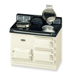 Aga Kitchen Stove 1.779/6 Reutter Beige DOLLHOUSE Miniature