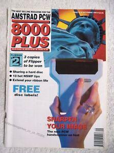 75368 Issue 48 Amstrad PCW 8000 Plus Magazine 1990