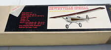 "RC Balsa Kit - Simcoe RC Aircraft Deweyvile Special - Airplane Kit - Wing 74"""