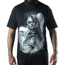 Sullen Fallen Love by Ryan Smith and Big Gus Mens Black T Shirt Urban Streetwear