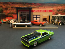 1:64 Hot Wheels LE 1970 70 Dodge Challenger 340 Six Pack T/A Green