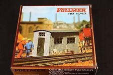 W178 VOLLMER Train Ho Maquette 5743 3 abri tole tool sheds Wellblechhütten