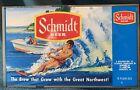 VintageJACOB SCHMIDT BREWING CO. UNWRAPPED BEER FLAT- WATER SKIER 1970's