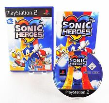 Ps2 Sonic Heroes (Sony PlayStation 2, 2004) instrucciones & OVP