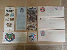 Toronto Blue Jays Memorabilia * Logo * Sticker * Envelope * Pamphlets