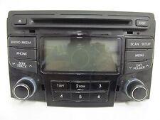 2013 Hyundai Sonata Radio w/o Navigation Has Light Scratches On Face R516 150505
