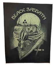 BLACK SABBATH  ( U.S. tour '78 ) OFFICIAL BACK  PATCH