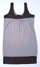 EX CON Forever New Size 12 Dress Grey Casual Sleeveless Mini Singlet Tank Long