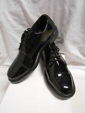 NWB Men's Black Patent Leather Cap Toe Oxford  Formal Wear Shoes Size 8M