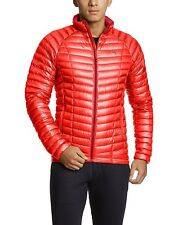 Mountain Hardwear Ghost Whisperer 800 Down Jacket Mens XL XLarge Cherry Bomb Red