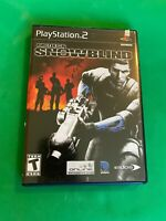 Project Snowblind Video Game Sony PS2 Playstation 2 Tested Manual