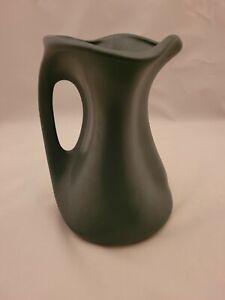 Vintage Matte Green Haeger USA Pottery Vase/ Pitcher