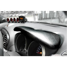 Fit 11-15 Nissan Juke Pure Carbon Speedometer Cover + Dashboard Cover Trim Set