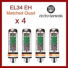 Electro-Harmonix EL34EH Power Vacuum Tubes - Matched Quad - 4 Pieces