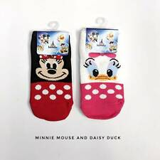 Disney Minnie Mouse and Daisy duck kids socks ankle sock (3 - 5 years old).