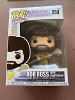 Funko - POP TV: Bob Ross - Bob Ross in Overalls Brand New In Box #559