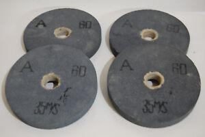 4x Schleifscheiben Doppelschleifer 200 x 25 x 32 mm Körnung A60 Normalkorund