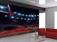 Basketball Arena Lights Sport Wall Mural Photo Wallpaper Giant Wall Decor
