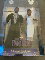 2019 Disney D23 Expo Black Panther T'Challa & Shuri Dolls Rare Exclusive In Hand