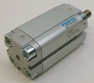 Festo ADVU-25-40-A-P-A Cylinder, 25 mm Bore, 40 mm Stroke, Double Acting, 156614