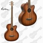 MARTINEZ SOUTHERN STAR MAHOGANY SOLIDTOP ACOUSTIC/ELECTRIC BASS GUITAR WITH CASE for sale