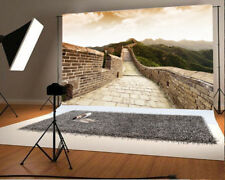 Scenic Backdrop Great Wall Photography Background Vinyl 6x4ft Studio Photo Props