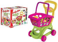 Bambini Carrello Spesa & Gioco di Ruolo Giocattolo Plastica Frutta Cibo Utensile