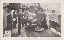 POSTCARD  SHIPS  HMS  HERMES  Deflection  Teacher
