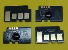 4 x Toner Reset Chip Samsung MLT-D104S ML-1860 ML-1865W, SCX-3200 3201 Refill