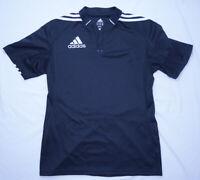 Adidas Climacool Mens Black White Soccer Futbol Jersey Shirt Top - Size M Medium