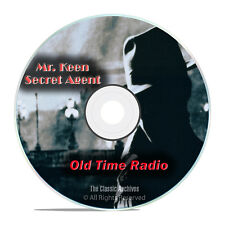 Mr. Keen, Tracer of Lost Persons, 836 Old Time Radio Detective Shows mp3 DVD G64