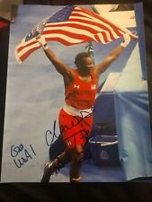 CLARISSA SHIELDS SIGNED 8X10 PHOTO BOXER OLYMPICS GOLD W/COA+PROOF RARE WOW