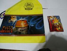 Subway Star wars rebels Chopper with trading cards