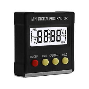Digital Neigungsmesser 0-360° Elektronische Winkelmesser Digital Bevel Box Meter