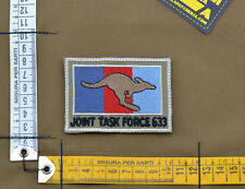 """Ricamata / Embroidered Patch Australian SF """"JTF 633"""" with VELCRO® brand hook"""
