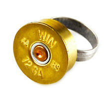 Genuine Shotgun Shell Adjustable Statement Ring - QHG2