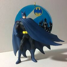 "HALLMARK USA KEEPSAKE ORNAMENT: ""BATMAN: CALLING THE CAPED CRUSADER"" FROM 2002"