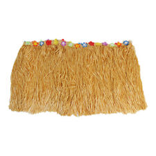 9FT Hawaiian Luau Garden Beach Multicolored Tiki Party Table Skirt Decorations