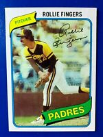 1980 Topps #651 Rollie Fingers Padres
