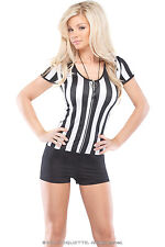 Time Out Temptress Costume, 12-14, Coquette, Sexy Referee Romper, Fancy Dress