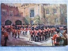 Antique Postcard - Harry Payne, Oilette - Grenadier Guards at St James, Tuck's
